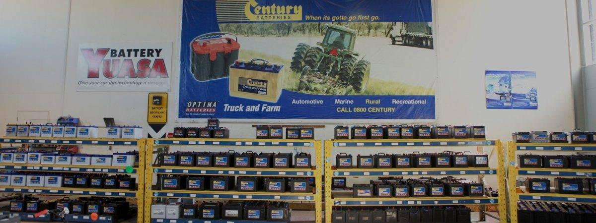 Cenutry Battery Shelves