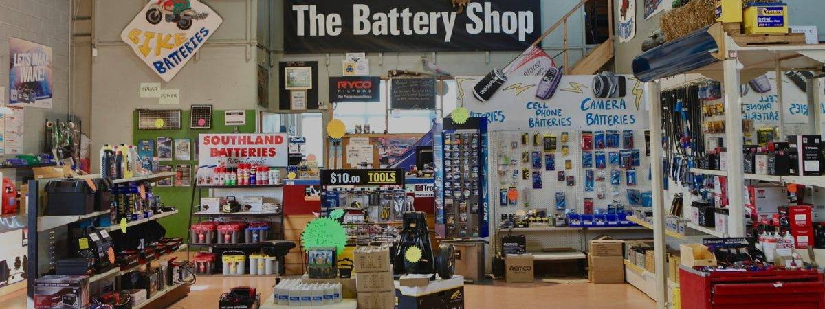 The Battery Shop Invercargill